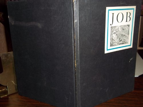 Illustrations of the Book of Job, Invented & Engraved by William Blake / The Doctrine of Job, by S. Foster Damon