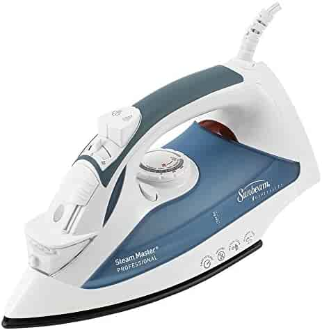 b6be61a8733 Sunbeam GreenSense SteamMaster Full Size Professional Iron with ClearView