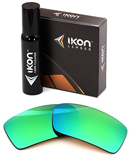 Polarized IKON Replacement Lenses For Von Zipper Sham Sunglasses - Emerald ()