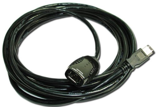 PCCables Firewire Repeater Cable 5 Meter, IEEE-1394a Extension Cable by PCCables