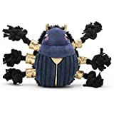 BarkBox Dog Rope Toys - Durable Tug Toys for Chewers, Puppy Teething, and Small, Medium, and Large Dogs   Black and Blue Beet