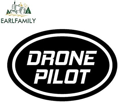 Apriporta Ossa Finestra Computer Adesivo Drone Pilota Teschio Decalcomania