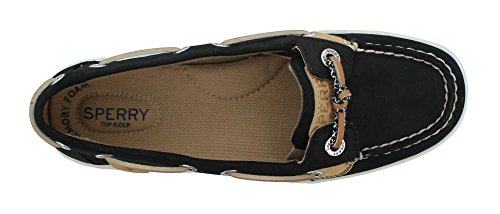 Women's Sperry, Solefish Boat Shoes Black