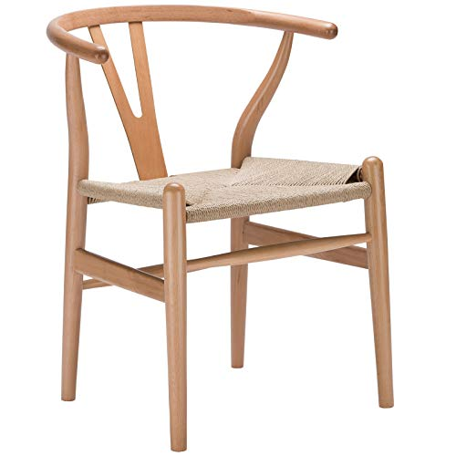 Magis Modern Chair - Poly and Bark Weave Chair in Natural