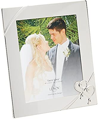 Personalised Engraved Matte or Shiny Silver Photo Picture Frames Xmas Gift 8x10/""