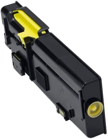 high Capacity Yellow Cartridge YR3W3 Premium Compatible Toner Cartridge Replacement for Dell 593-BBBR