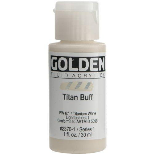 Golden Fluid Acrylic Paint 1 Ounce-Titan Bluff