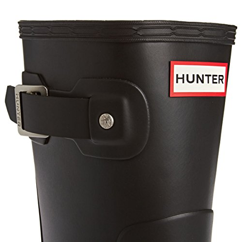 Men'S Negro Mid Calf Hunter Boot Rubber Short Negro Original Bxw6A4