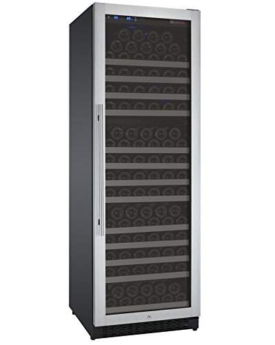 Cabinet Deep Single Wine Door - Allavino Flexcount VSWR177-1SSRN 177 Bottle Single Zone Wine Refrigerator with Right Hinge