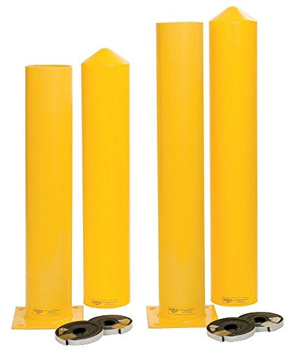 Eagle 1763PS Steel Bollard Post and Poly Sleeve Combos with Kit, 6