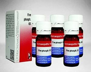 5 x Dr.Reckeweg-Germany Five Phosph.6x Homeopathic Medicine
