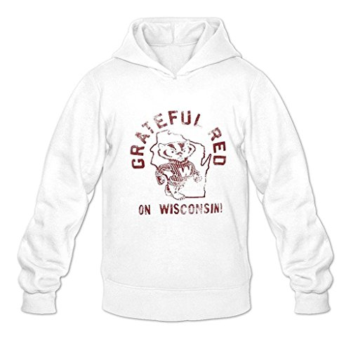 Peacock Mens Holiday Bowl Wisconsin Badgers Fashion hoodiess