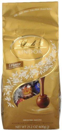Lindor Assorted Chocolate Truffles, 21.2 ounce by Lindor [Foods]