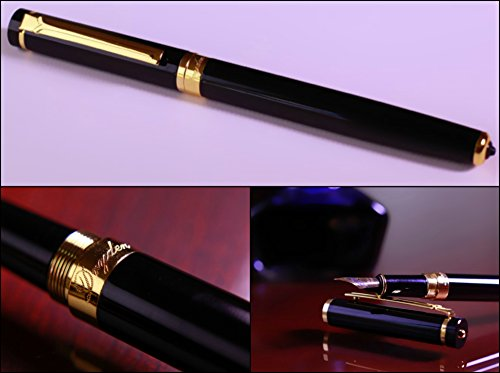 Luxury-Pen-Black-and-Silver-Edition