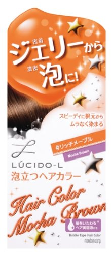 Mandom Lucido-L Bubble Hair Color - Mocha Brown by GATSBY