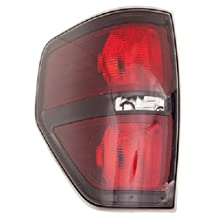 OE Replacement Ford F-150 Driver Side Taillight Lens/Housing (Partslink Number FO2818148)