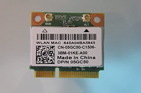 Amazon.com: Wireless WiFi Bluetooth BlueTooth Card Atheros QCWB335 5GC50  for DELL Inspiron 15 3537 15.6: Computers & Accessories