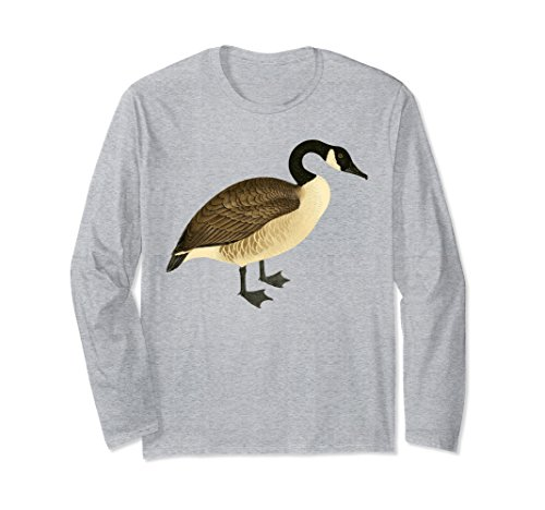 (Unisex Canada Goose T-shirt Vintage Graphic Canadian Goose 2XL Heather Grey)