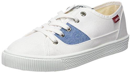 Levi's WoMen Malibu S Trainers White (Brillant White 50)