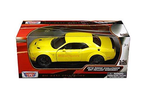 (Motor Max 1: 24 W/B. 2018 Dodge Challenger SRT Hellcat)