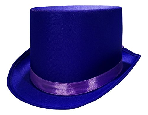 Nicky Bigs Novelties Tuxedo Silk Satin Top Hat Roaring 20s Adult Child Formal Costume Magician -