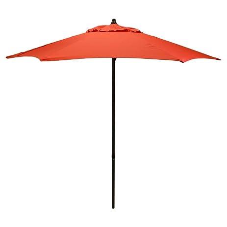 Room Essentials™ 7.5u0027 Patio Umbrella   Red