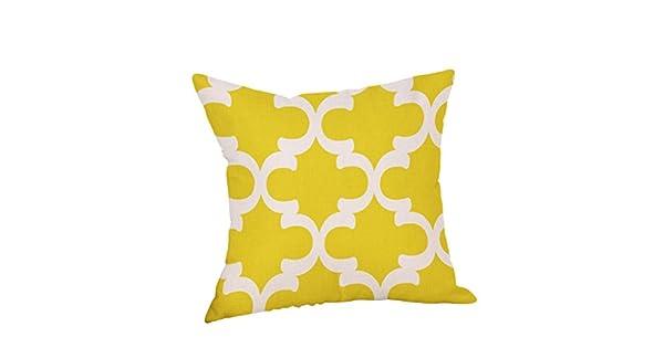 """Amazon.com: 18"""" decorativos funda de almohada Mostaza ..."""