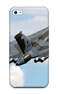 New Cute Funny Jet Fighter Case Cover/ Iphone 5c Case Cover hjbrhga1544