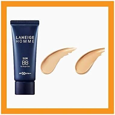 New Laneige Homme Mens Sun BB Cream For Bright Skin SPF 50+ PA+++ 50ml