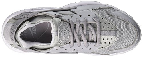 032 Nero Grey Pure da Donna Air Platinum Nike Wolf Run Scarpe White Ginnastica Huarache Wmns xp8B8q6