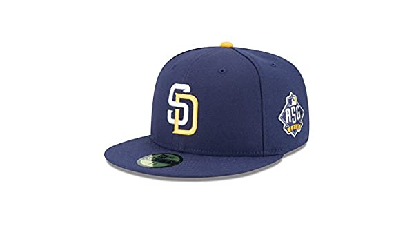 size 40 f0f3e 4538a Amazon.com   MLB San Diego Padres Men s Authentic Collection On Field 59FIFTY  Fitted Cap (GAME), Size 712, Navy   Sports   Outdoors