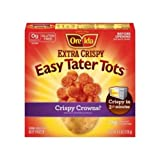 Ore Ida Extra Easy Tater Tots, 4.5 Ounce - 12 per case.