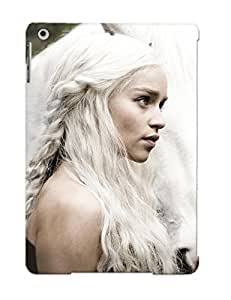 DYqdZH-2648-VepYI Faddish Game Of Thrones Tv Series Emilia Clarke Daenerys Targaryen House Targaryen Case Cover For Ipad Air With Design For Christmas Day's Gift