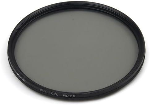 Black CPL Filter Kernel 55mm Circular Polarizer Lens