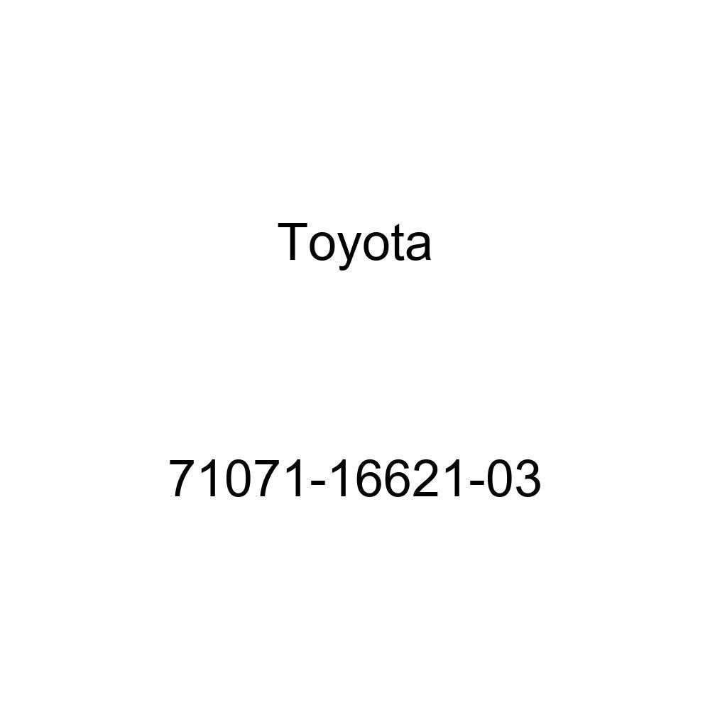TOYOTA Genuine 71071-16621-03 Seat Cushion Cover