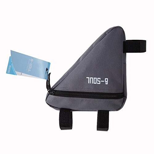Triangle Cycling Bike Bicycle Front Tube Frame Pouch Bag(Blue) - 3