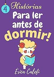 4 histórias para ler antes de dormir: Box com 4 histórias infantis-ilustradas-3-9 anos