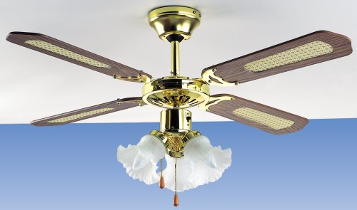 Micromark nassau 42 ceiling fan with 3 light fitting amazon micromark quotnassauquot 42quot ceiling fan mozeypictures