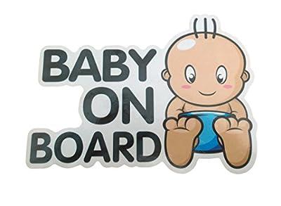 Baby is On Board Sticker Car Sign Boy Girl Newborn Vinyl Safety Baby in Vehicle Automobile Window Decoration