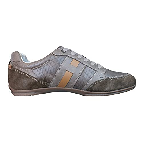 Geox U Houston A Mens Leather Sneakers Shoes Blue