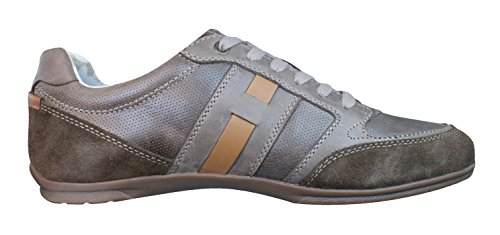 A Houston Brown Trainers GEOX Leather U 5 Mens Shoes 12 6w5ExWPHq
