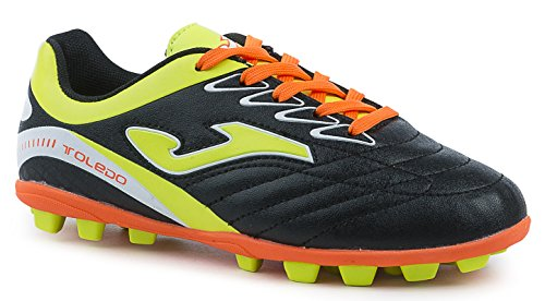JOMA CALCIO TOLEDO JR 601 BLACK-FLUOR RUBBER 22 27