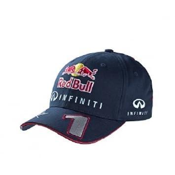 Red Bull Racing Sebastian Vettel - Gorra infantil, color azul marino: Amazon.es: Deportes y aire libre