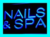 Nails & Spa Beauty Salon Saloon LED Sign Neon Light Sign Display i356-b(c)