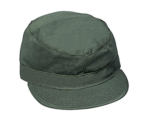 Mens Military Hat - Fatigue Cap, Olive Drab, X-Small by Rothco (Fatigue Style Hat)