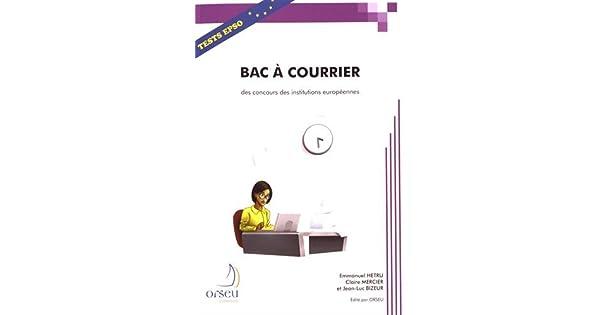 bac a courrier pour les concou livros na amazon brasil 9782918796190