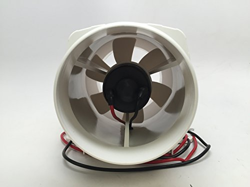 Marine High Performance White In Line Bilge Blower 12v