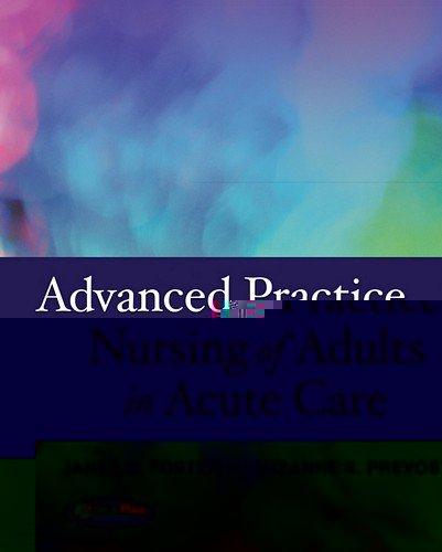 Advanced Practice Nursing Of Adults...