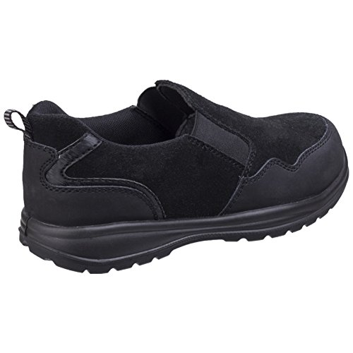 Cordless da lavoro Safety As603c Womens AmblersScarpe Lady Black QxBoerdCWE