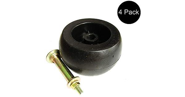 Amazon.com: Cuatro (4) cubierta rueda/Kit de rodillo para ...